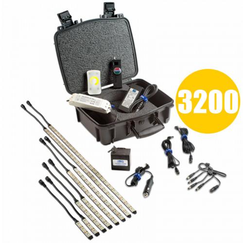 Rosco Kits de tira Gaffer RoscoLED Tungsteno 3000K