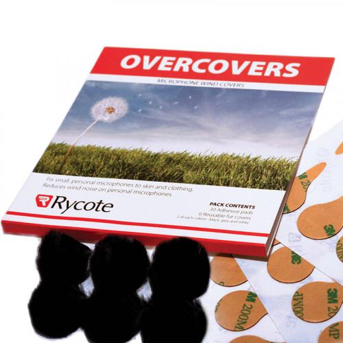 Rycote Overcovers  Paraviento para micrófonos Lavalier con 30 stickies