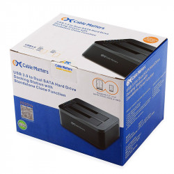"Docking Dual Station para HDD/SSD de 3.5"" o 2.5""   USB 3.0"