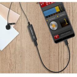 Saramonic LavMicro +  Micrófono lavalier para iOS, Android y Mac o PC