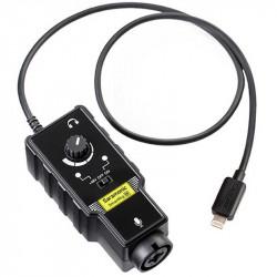 Saramonic SmartRig DI Interface de audio XLR para Lighting