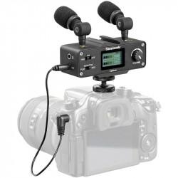 Saramonic CAMixer Kit de audio Dual Mic para cámaras DSLR y video