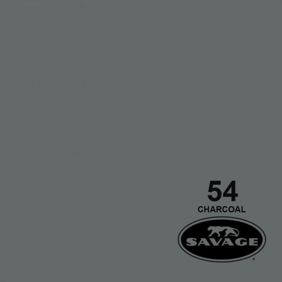 "Savage Fondo de Papel ""Charcoal"" Gris para backdrop de 2,72  x 11 mts SAV-54"