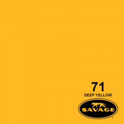 "Savage Fondo de Papel ""Deep Yellow"" Amarillo para backdrop de 1,35  x 11 mts SAV-71-53"