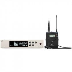 Sennheiser EW 100 G4 Sistema Inalámbrico Balita para Estudio con micrófono ME 2-II - B (626 a 668 MHz)