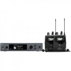 Sennheiser EW IEM G4 Twin Sistema Inalámbrico in ear con audífonos IE4  (A1: 470 a 516 MHz)