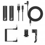 Panasonic Kit Lumix 4K Lente F2.8 25-600mm con Lavalier Sennheiser
