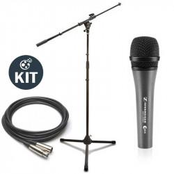 Sennheiser Kit de Escenario Micrófono E835 de Mano con cable XLR y stand