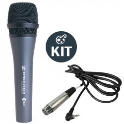 Sennheiser E835 Micrófono de Mano con cable 3.5mm para DSLR