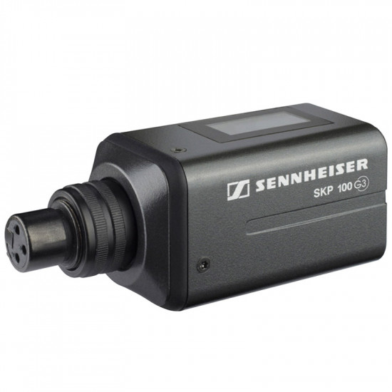 Sennheiser SKP 100 G3-G Plug on Transmisor XLR Frecuencia G (566- 608 MHz)