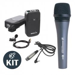 Rode RODELINK-KIT Lavalier Inalambrico RodeLink con micrófono Sennheiser E-835
