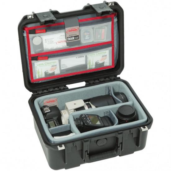 SKB 1309-6DL Maleta impermeable con separadores Think Tank Photo y organizador de tapa