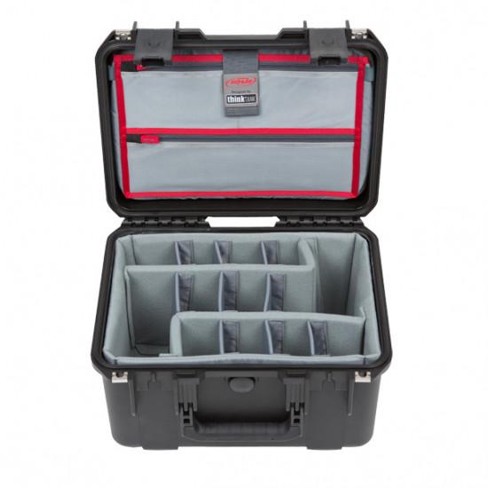 SKB 1510-9DL Maleta impermeable con separadores Think Tank Photo y organizador de tapa