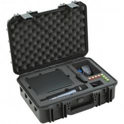SKB 1711-SEW Maleta impermeable para sistemas de micrófono inalámbrico Sennheiser de la serie EW100