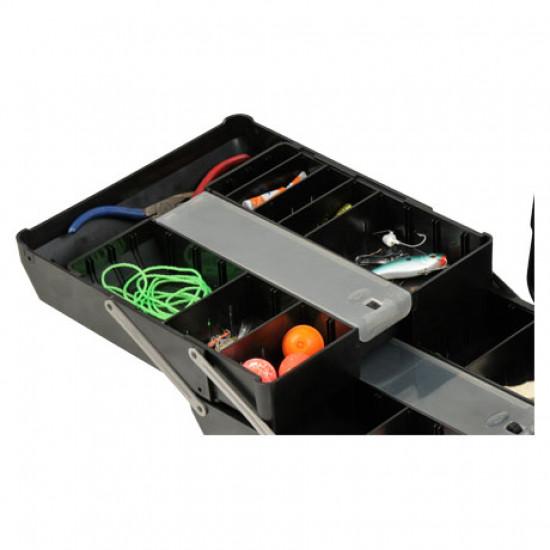 SKB 2011-7B-TR Maleta impermeable con bandejas ruedas y tirador
