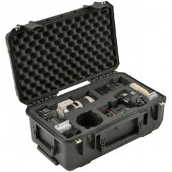 SKB 20117SLR2 Maleta impermeable resistente al agua para dos cámaras DSLR con lentes y accesorios