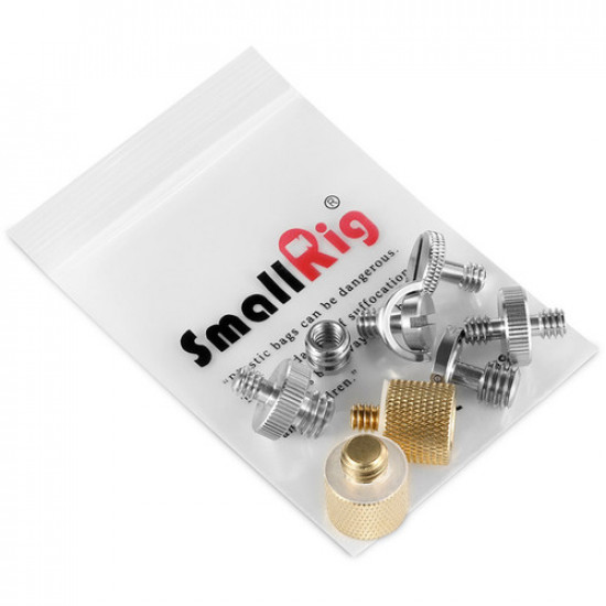 "SmallRig 1074B Kit de Pernos de 1/4"" + 3/8"" Screw Pack"