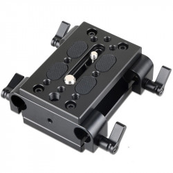 SmallRig 1798 Base Rail Block para rods 15mm y montura a tripode