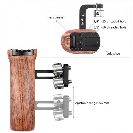 SmallRig 2093  Agarre de madera universal