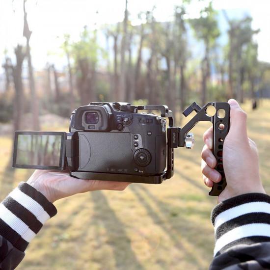 SmallRig  2094 Handle o Agarre para cámaras Video o DSLR con zapata Hot Shoe y entrada de Rod