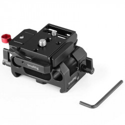 SmallRig 2266 Base Pocket 4K / 6K con plate 501 para rods 15mm