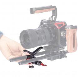 SmallRig BSL2644 Soporte para lentes en Rods de 15mm (oliva oscuro)