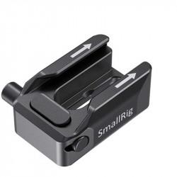 SmallRig BUC2806 Adaptador de montaje de zapata fría con liberación de seguridad (cold shoe)