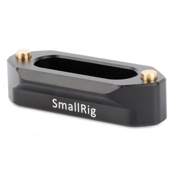"""Smallrig 1409 """"NATO Rail"""" Riel de seguridad de liberación rápida de 46 mm"""