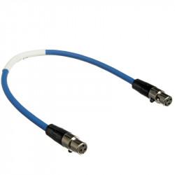 Sound Devices XL-1B Cables Mini XLR  TA3-F a TA3-F  30cm