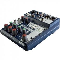 Soundcraft Notepad-5 Consola Ultra Compacta de Audio de 5 Canales / 1 Mic + 2 Linea 1/4 + 2 RCA