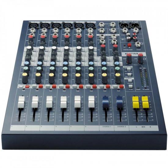 Soundcraft EPM-6 Consola de Audio de 6 Canales XLR + 2 Stereo
