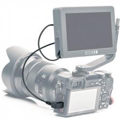 SmallHD Cable Micro HDMI a Micro HDMI 90 grados compatible con Focus 30cm