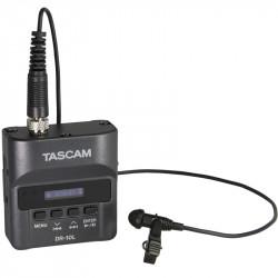 Tascam DR-10L Grabadora de audio digital Tascam con micrófono lavalier