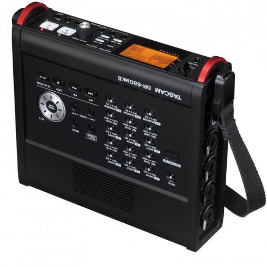 Tascam DR-680MKII Grabador Portátil 8 canales Broadcast WAV