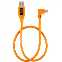 Tether Tools CU51RT02 Cable USB 2.0 a Mini-B 5-Pin en L de 50cm