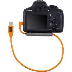 Tether Tools CU51RT02 Cable USB 2.0 a Mini-B 5-Pin en L de 50cm