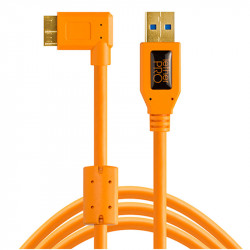 Tether Tools CU61RT01 Cable USB 3.0 A Male a Micro-B 10-Pin de 30cm