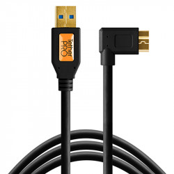 Tether Tools CU61RT01 -BLK Cable USB 3.0 A Male a Micro-B 10-Pin de 30cm