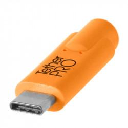 Tether Tools CUC2415 Cable USB-C a Mini-B 5-Pin de 4.60mts