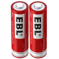 Tilta Baterias 14500 de 800 mAh 3.7volts (2 pack)
