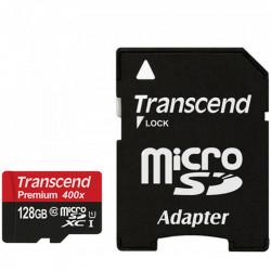 Transcend MicroSDXC 128GB Premium Class 10 60MB/s  400x