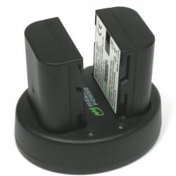 Wasabi BLF-19 2 Baterías y Cargador Doble USB para Panasonic