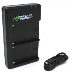 Wasabi Cargador Doble USB para Baterías Serie L de Sony