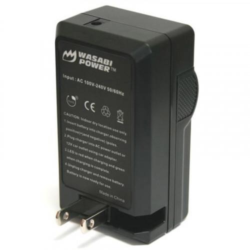 Wasabi LCH-LPE8 Cargador para Canon LP-E8