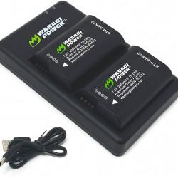Wasabi FC-BLK22 Baterías en Kit para Cámara Panasonic S5