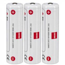 Zhiyun 18650 Batería de iones de litio (paquete de 3)