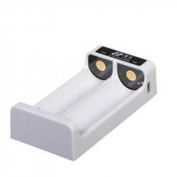 Zhiyun Cargador Doble para baterías 18650