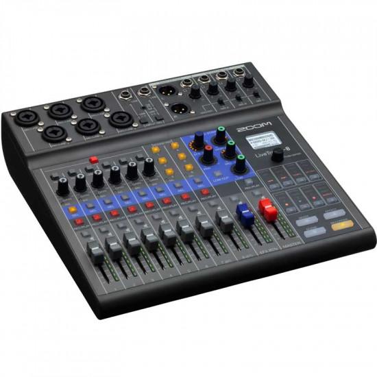 Zoom LiveTrak L-8 Mezclador digital 8 canales y grabador