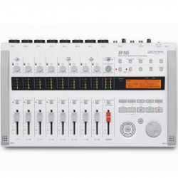Zoom ZR16 Grabadora : Interfaz : Controlador 16 pistas
