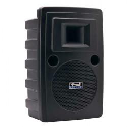 Anchor Audio LIB-7500U2 Liberty - Sistema PA de parlantes con receptor inalámbrico de Mic, Mixer 2 canales y amplificador